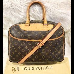 Authentic Louis Vuitton Deauville Tote #5.6C